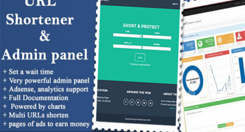 Photo of URL Shortener with Ads and Powerful Admin Panel v1.8.8