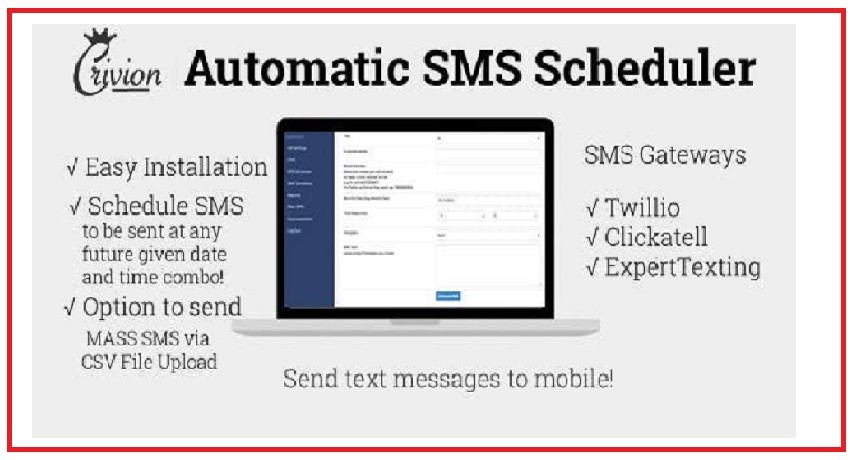 Photo of Automatic Scheduler SMS PHP Script Download