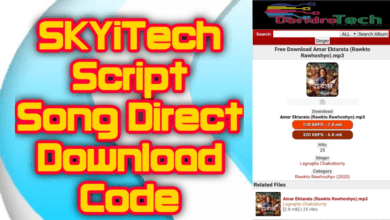Photo of SKYiTech Script Song Direct Download Code