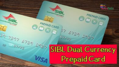 Photo of SIBL Dual Currency Prepaid Card